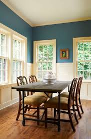 Peacock Blue Chair Decorating With Peacock Blue Dining Room Traditional With