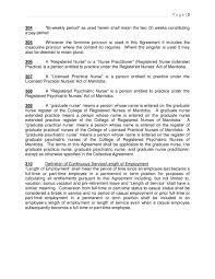 Calgary Registered Nurse Jobs Collective Agreements Mnu
