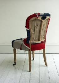 Union Jack Dining Chair British Flag Chairs Conceptual Architecture And Interior Design