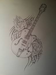 drawing ideas with guitar 25 best ideas about guitar drawing