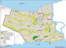 Niagra Falls Map Regional Municipality Of Niagara Neptis Foundation