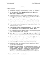 transcendentalism henry david thoreau walden chapter 1