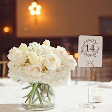 white centerpieces small all white centerpiece wedding ideas white
