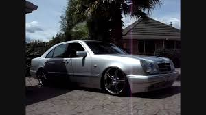 bagged mercedes e class bagged benz on 20s youtube
