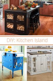 how to make your own kitchen island with cabinets two simple diy kitchen island designs kitchen design diy