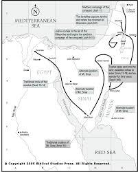Sinai Peninsula On World Map by Route Van De Uittocht Map Of The Exodus Bijbel Pinterest