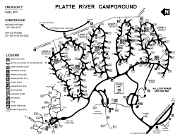 Promised Land State Park Map by Np Campground Review U2013 Platte River Campground Sleeping Bear