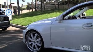 lexus is 250 for sale in nc lexus is 250 on 22 inch asanti u0027s los angeles youtube