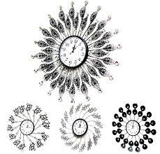 stylish home kitchen decor wall clocks wallclock clock funky color
