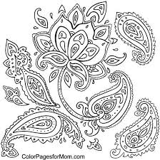 design coloring pages best 25 paisley coloring pages ideas on pinterest paisley color