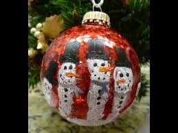diy handprint snowman ornament easy how to