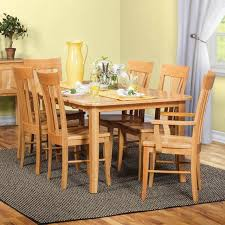 Amish Dining Room Furniture Amish Cherry Dining Room 7 Set Table With 4 Side