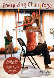 Chair Yoga Class Sequence Chair Yoga Energizing 3 Dvd Set U2013 Live Deluxe Series 1 With