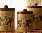 primitive kitchen canisters image detail for kitchen cannisters accessories hearts
