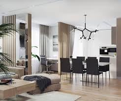 home interior work relaxing contemporary style family apartment in beige gray white