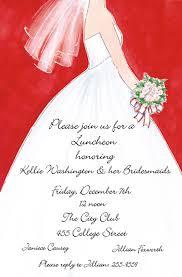 bridal shower luncheon invitations bridal shower invitations