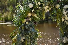 wedding arch greenery flower delivery