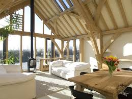 Scottish Homes And Interiors by Carpenter Oak Framed Buildings And Oak Framed Houses