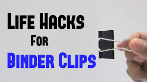 11 binder clips life hacks you can do it yourself diy youtube