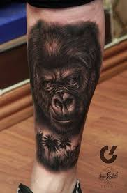 best 25 gorilla tattoo ideas on pinterest lion sleeve men with