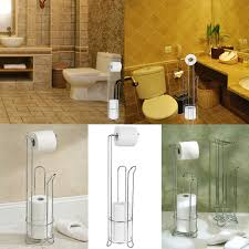 Toilet Paper Roll Storage Stainless Steel Toilet Paper Roll Stand