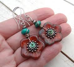 button earrings fancy button earrings fashion forth