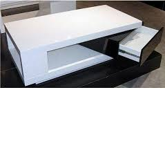 black and white modern coffee table with design hd images 13760