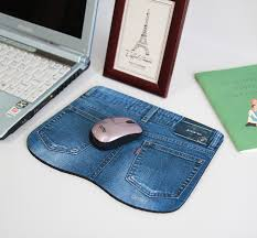 Comfortable Mouse Pad Aliexpress Com Buy Blue Jeans Mouse Pad 225 170 6mm Size Soft