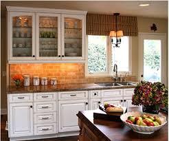 Faux Brick Kitchen Backsplash Brick Veneer Backsplash Faux Panels Backsplashes For Kitchens With