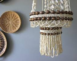 Beachy Chandeliers Shell Chandelier Etsy