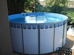 DIY swimming pools below & above ground vinyl pool kits
