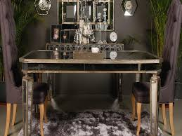 Mirrored Dining Table Mirrored Buffet Table