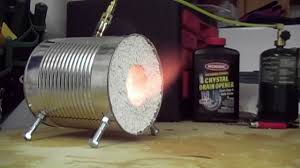 how to make a coffee can forge youtube