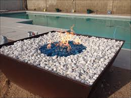 exteriors awesome propane fire pit kit home depot natural gas