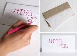 diy led creative customizable greeting card design