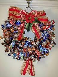 candy wreath chocolate truffle candy wreath christmas gourmet centerpiece