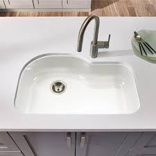 Undermount Porcelain Kitchen Sinks by Eco Friendly Kitchen Sinks U2022 Nifty Homestead