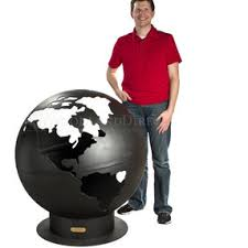 Fire Pit Globe by Third Rock Fire Pit Globe By Woodlanddirect Com Olioboard