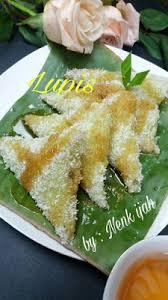 resep lopis membuat jajanan kue lupis resep masakan dan manfaat aneka buah