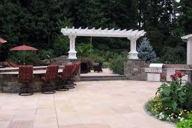 Outdoor Patio Design Natural Stone Patio U0026 Wall Design For Pools U0026 Landscaping Nj