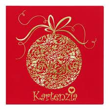 designer weihnachtskarte designer weihnachtskarte nr 54 für firmen in rot mit