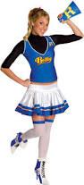 cheerleader costumes for halloween all u003e women u003e u003e cheerleaders crazy for costumes la casa de