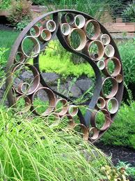 recycled metal garden ornaments exhort me
