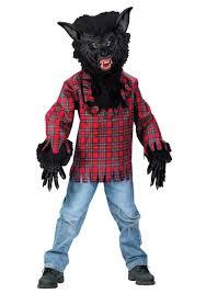 black eye mask halloween costumes werewolf costumes kids scary werewolf costume
