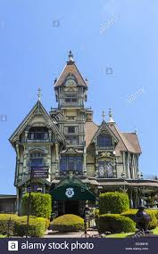 Queen Anne Victorian The Carson Mansion An Ornate Example Of The Queen Anne Style Of