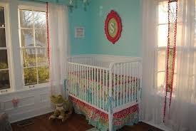 Pink And Aqua Crib Bedding Aqua Pink And Green Whimsical Nursery Project Nursery