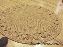 Round Nautical Rugs Round Natural Rug Roselawnlutheran