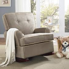 glider and ottoman set for nursery nursery rocking chair unique wingback glider upholstered recliner of