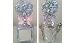 diy eye catching bling centerpiece 2017 wedding special events