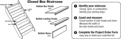 request a quote or order stair treads and parts nustair